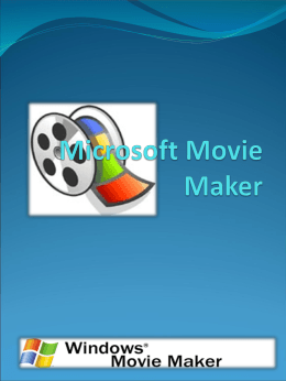 MANUAL MOVIE MAKER