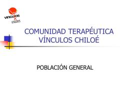 COMUNIDAD TERAPÉUTICA VÍNCULOS CHILOÉ