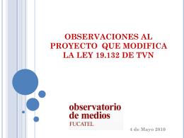 Intervención Observatorio Congreso