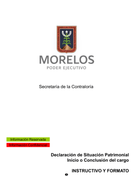 Declaracion de inici... - Dirección General de Administración