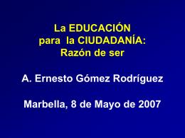 EDUCACION para la CIUDADANIA - Plataforma colaborativa del