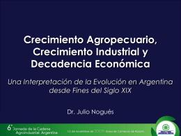 Presentación Julio Nogués