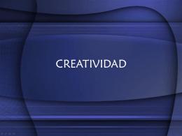 Creatividad, Julio Cesar Lobo M, Jorge Gil Avelar, 2007-1