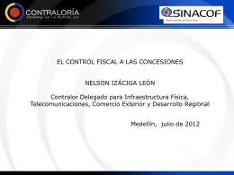 Auditoria de Concesiones. CGR Julio 2012 Dr. Izaciga1