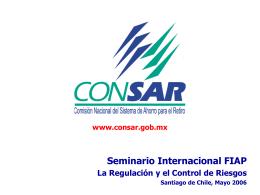 """Gabriel Ramírez - """"La Regulación y el Control de Riesgos""""."""