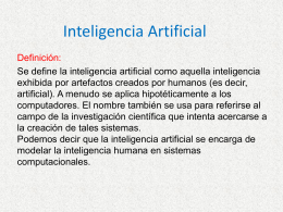 Inteligencia Artificial (Miguel Oswaldo)