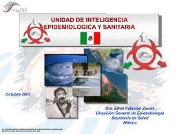 Unidad de Inteligencia Epidemiológica y Sanitaria Principal