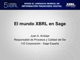 D. Juan Antonio Andújar - Asociación XBRL España