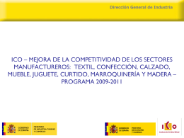 Dirección General de Industria