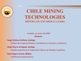 Chile Mining Technologies