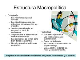 Estructura Macropolítica