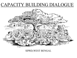 PROPOSAL Of SIPRD - Ministry of Rural Development