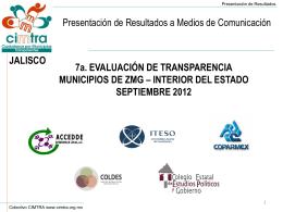 presentación completa - Programa de Investigación y Análisis en