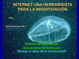 Internet una Herramienta Para la investigación