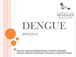 DENGUE - Ministerio de Salud