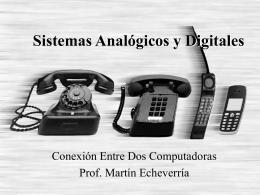 Sistemas Analógicos y Digitales