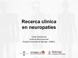 Carlos Casasnovas. Neuròleg. Hospital de