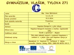 3_3_D_16 - Gymnázium, Vlašim, Tylova 271