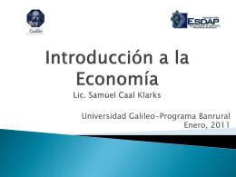 Introducci%f3n a la Econom%eda 1