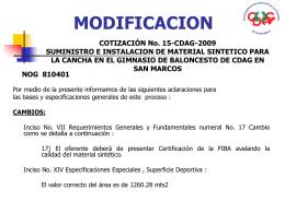 ACLARACION - Guatecompras