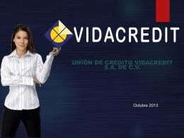 Unión de Crédito Vidacredit, SA de CV