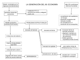 LA GENERACIÓN DEL 80: ECONOMÍA