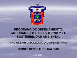 Proyecto PROMESA ISP Ecológico