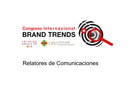 Listado de Relatores - Universidad CEU Cardenal Herrera