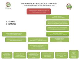 COORDINACION DE PROYECTOS ESPECIALES