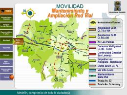 Mantenimiento - Ampliación Red Vial