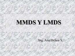 mmds y lmds