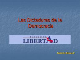Los oligopolios de la democracia