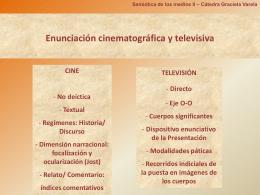 Enunciación TV 2013 - Semiótica de los medios II