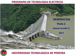Generación parte 2 - Universidad Tecnológica de Pereira