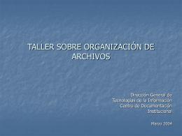 Diapositiva 1 - Secretaría de Salud :: México