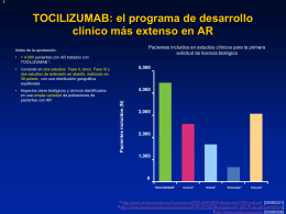 Tocilizumab estudios clínicos