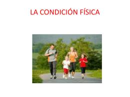 LA CONDICIÓN FÍSICA - salesianos | alicante