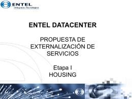 entel datacenter