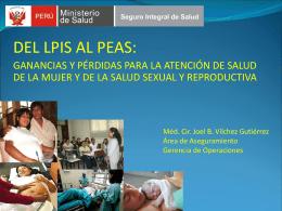 LPIS al PEAS