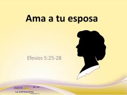 Ama a tu esposa - jesusmirefugio.org