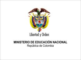 Diapositiva 1 - Universidad de los Andes