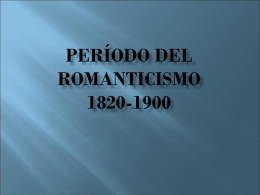 COMPOSITORES DEL ROMANTICISMO