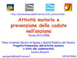 presentazione - Dipartimento di Prevenzione ULSS20