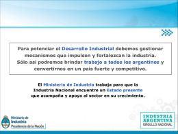 RIN - Registro Industrial de la Nación, Ley 19.971