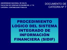 CP-DC7 - Facultad de Ciencias Económicas, Jurídicas y Sociales