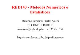 aula01 - DECOM-UFOP