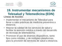 Diagnóstico situacional de la Telesalud en México