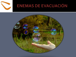ENEMAS DE EVACUACIÓN - Over-blog