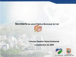 Presentación Informe de Gestión 2009 ( 2MB)