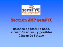 Sección JMF semFYC